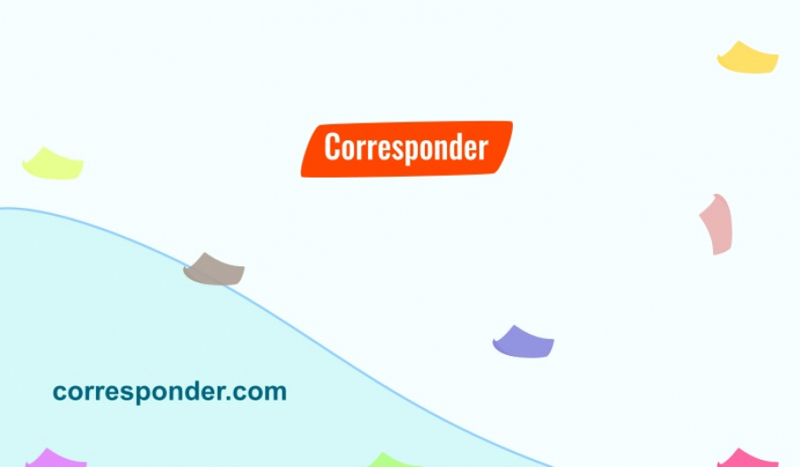 Corresponder Meaning