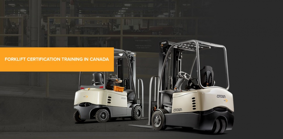 Forklift Certification Training Course Canada